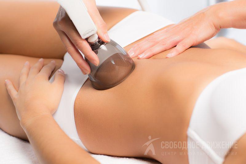 вакуумный массаж аппаратом живота для похудения