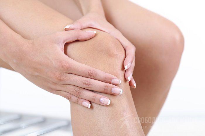 Образования на коленях из мягких тканей