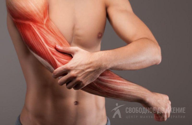 Боли в мышцах рук сильные тянущие лечение и причины