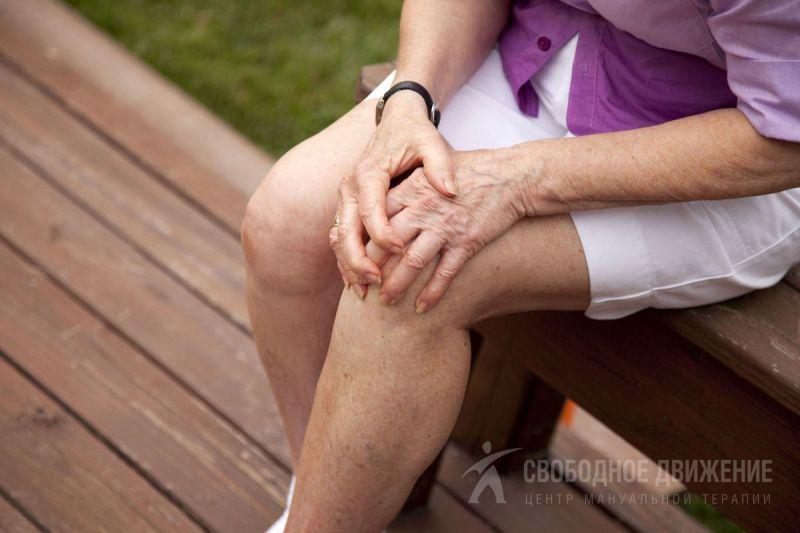 Болезни суставов ног колени