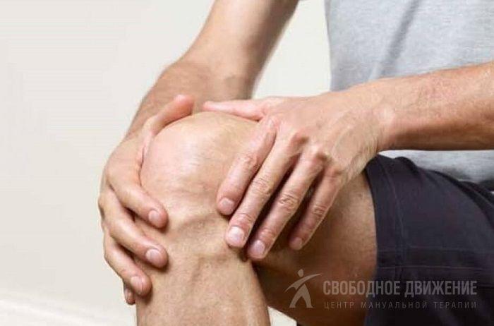 Коленный сустав тянущая боль thumbnail